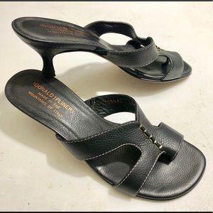 Donald J. Pliner leather sandals women's 7.5